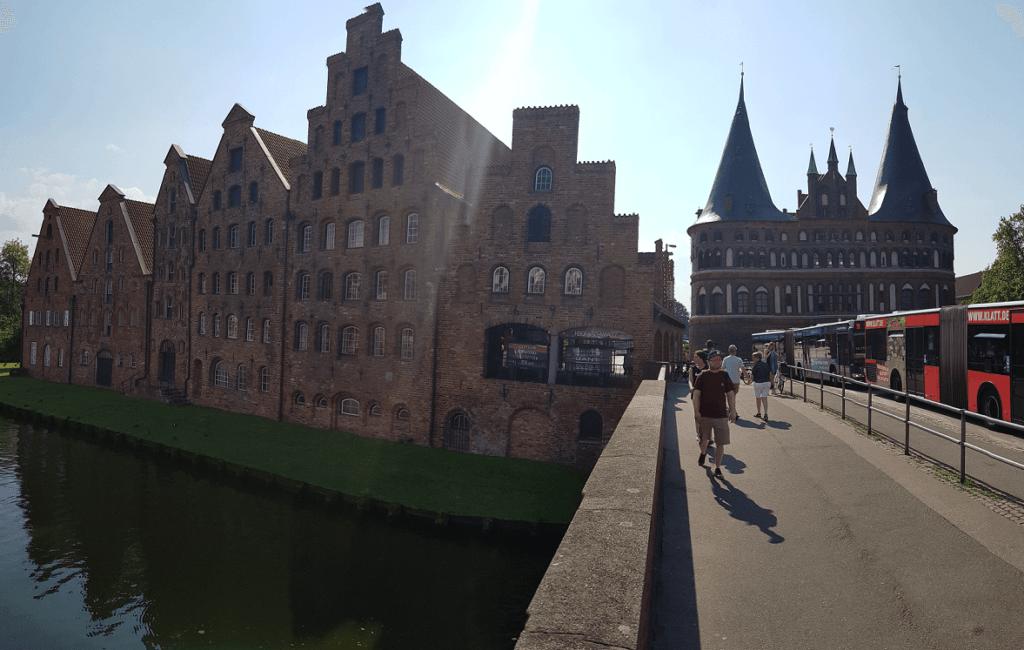 Lübeck Altsstadt: Holstentor
