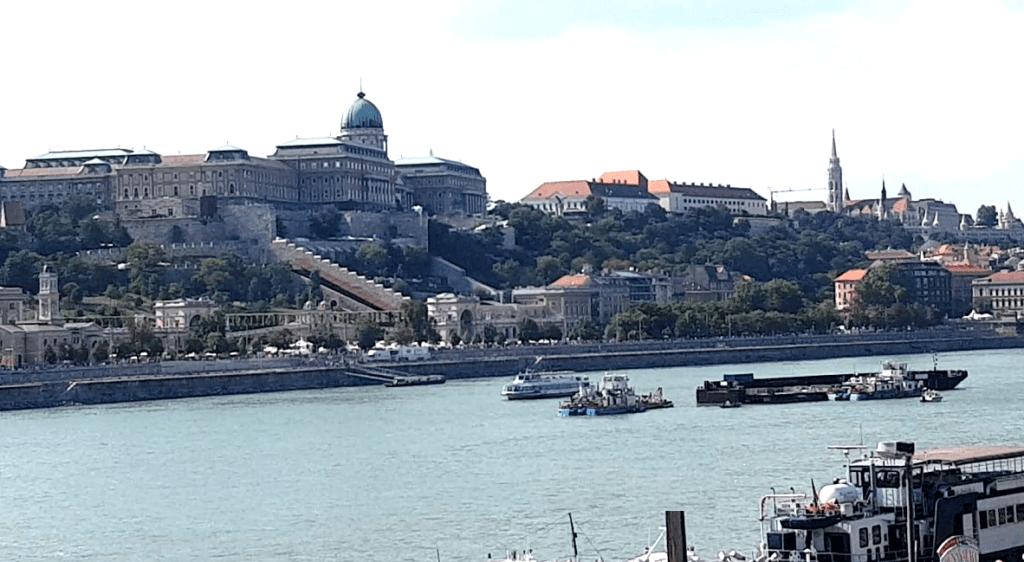 Blick auf die Innenstadt in Budapest