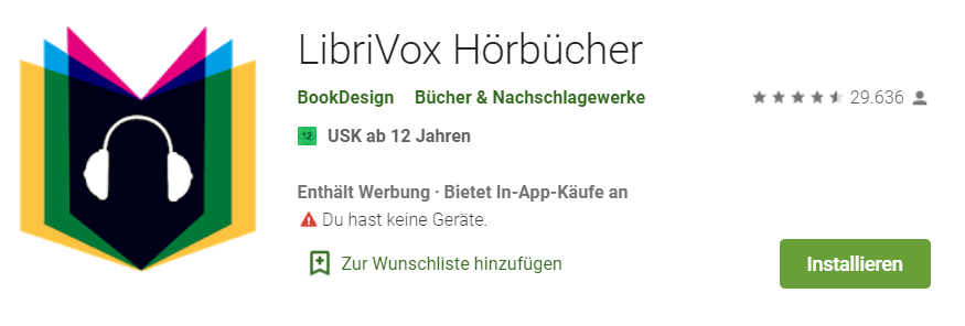 Hörbuch-App: Libri Vox alle Details auf einen Blick
